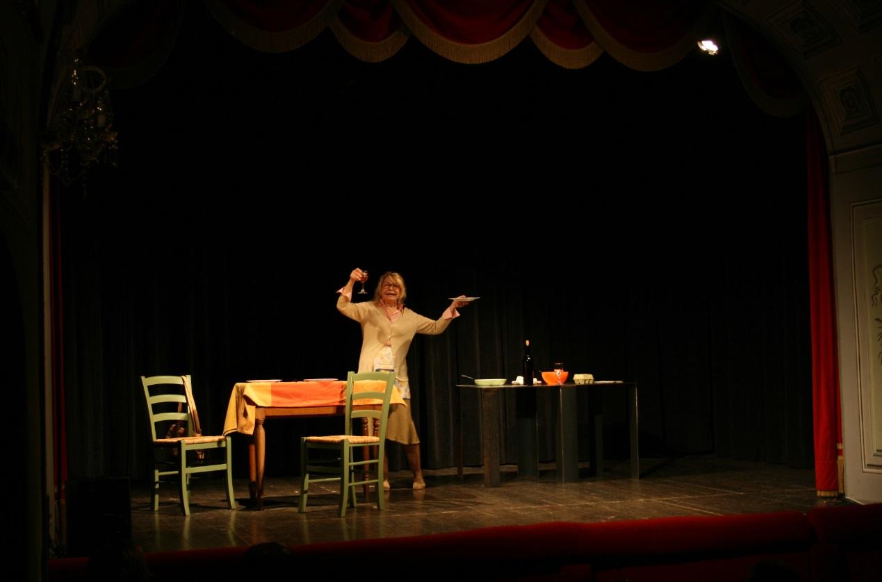 Nuovo sold out al Teatro Donnafugata di Ragusa Ibla dove è andata in scena Paola Quattrini