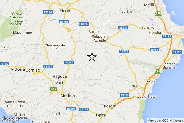 L'8 febbraio un evento sismico tra le province di Ragusa e Siracusa ha fatto tremare la Sicilia
