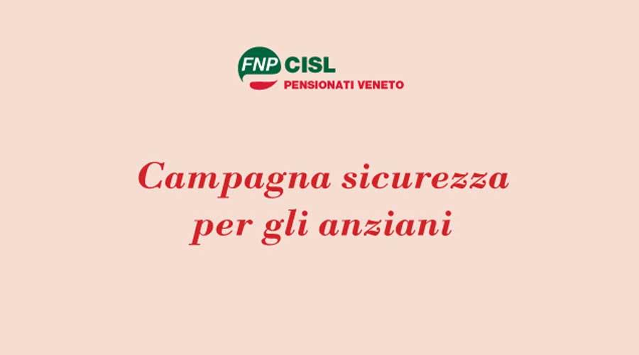 Anziani a scuola di sicurezza: parte da Verona la campagna territoriale della Fnp Veneto