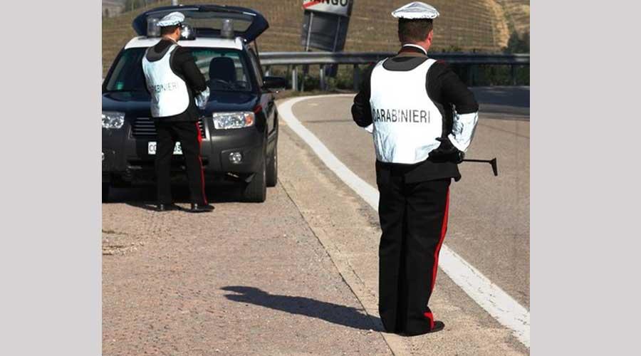 Neive: arrestato due volte in pochi giorni dai carabinieri