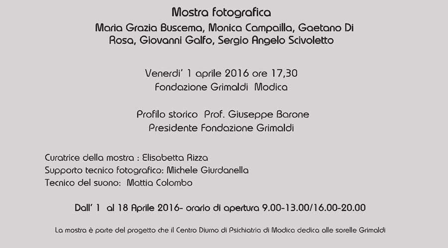Fondazione Grimaldi – U.O.C. di Psichiatria, doppio evento all'insegna della cultura e dell'inclusione sociale