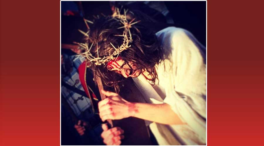 Monterosso Almo. Momenti spiritualmente molto intensi ieri pomeriggio per la Via Crucis Vivente