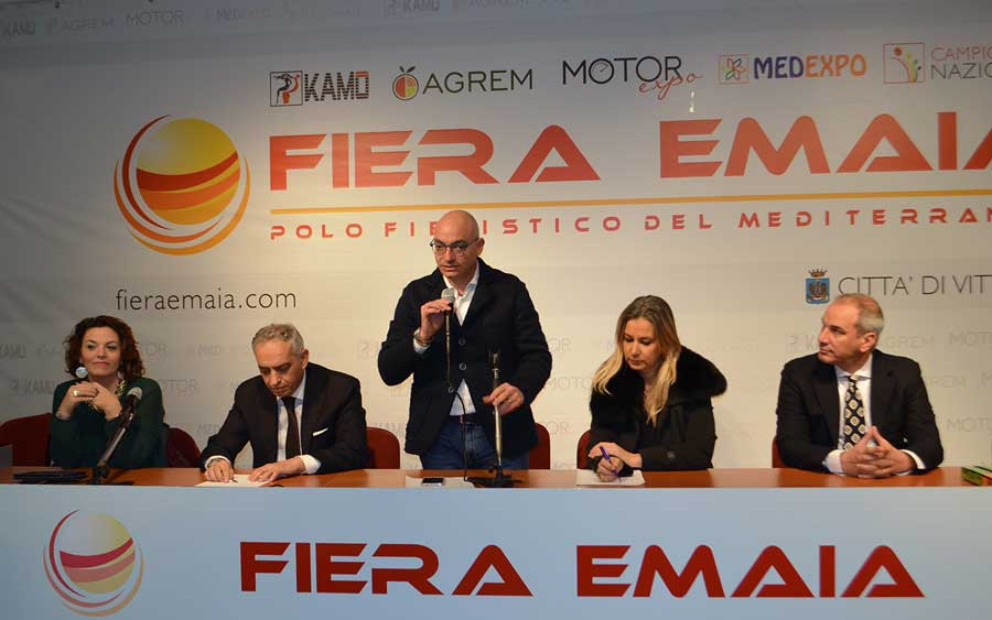 Vittoria. Accordo siglato da AGREM-Emaia con Fruit & Veg System VeronaFiere