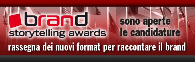 Brand Storytelling Awards fino al 30 aprile