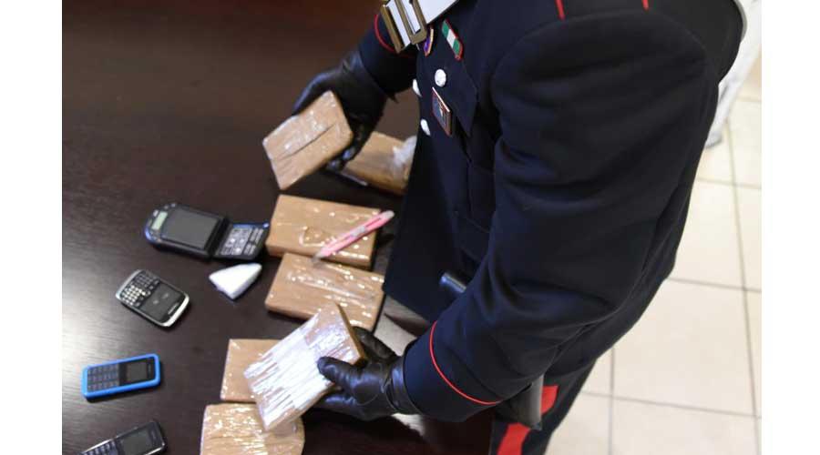 Novara: Operazione antidroga. Arrestato con due chilogrammi di eroina