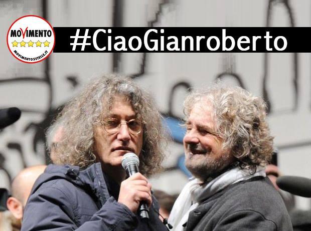 Acate. Il Movimento 5 Stelle ricorda, Gianroberto Casaleggio.