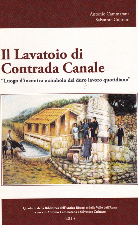 """Acate. """"Il Lavatoio di Contrada Canale"""", alla Biblioteca Nazionale Centrale di Firenze."""