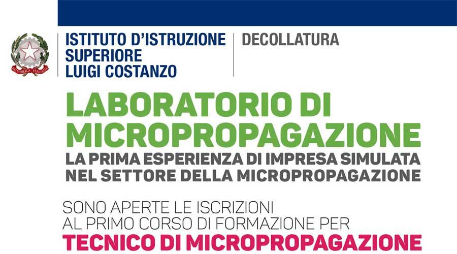 """Nasce """"Tecnici di Micropropagazione"""": Corso per Riproduzione Piante Rare. Obiettivo: Incentivare Startup Agribusiness"""