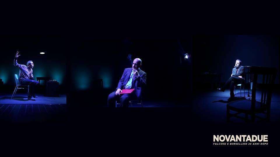 """Falcone e Borsellino. Domani sera """"rivivranno"""" sul palco del teatro Spazio Naselli di Comiso nello spettacolo """"Novantadue"""""""