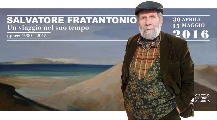 Augusta. Dal 30 aprile al 15 maggio le opere di Salvatore Fratantonio in mostra al Circolo Unione