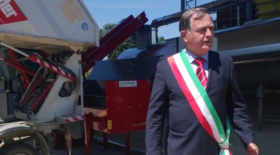 Inaugurato a Canale Monterano il più grande compostatore oggi installato in Italia