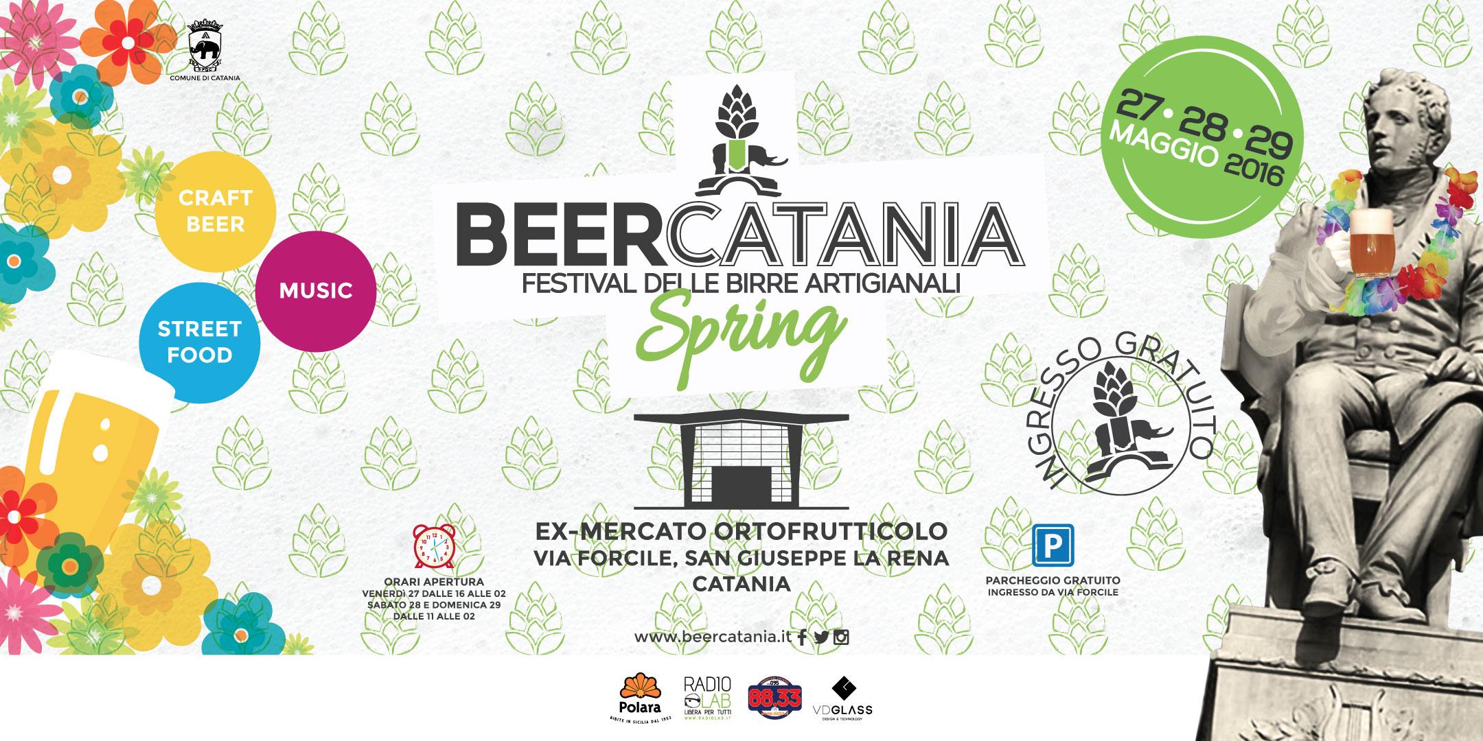 BeerCatania spring: Torna il festival delle birre artigianali, 27/29 maggio 2016