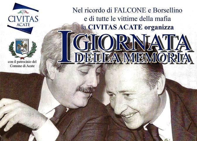 """Acate. """"Prima Giornata della Memoria"""", organizzata dalla """"Civitas Acate"""". Domani al Castello."""