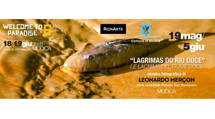 """Disastro ecologico in Brasile"" expo fotografia a Modica"