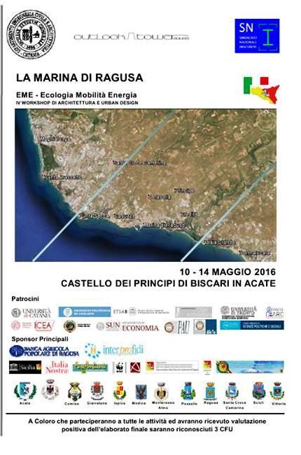 """Acate. Workshop """"La marina di Ragusa"""" al Castello dei Principi di Biscari."""