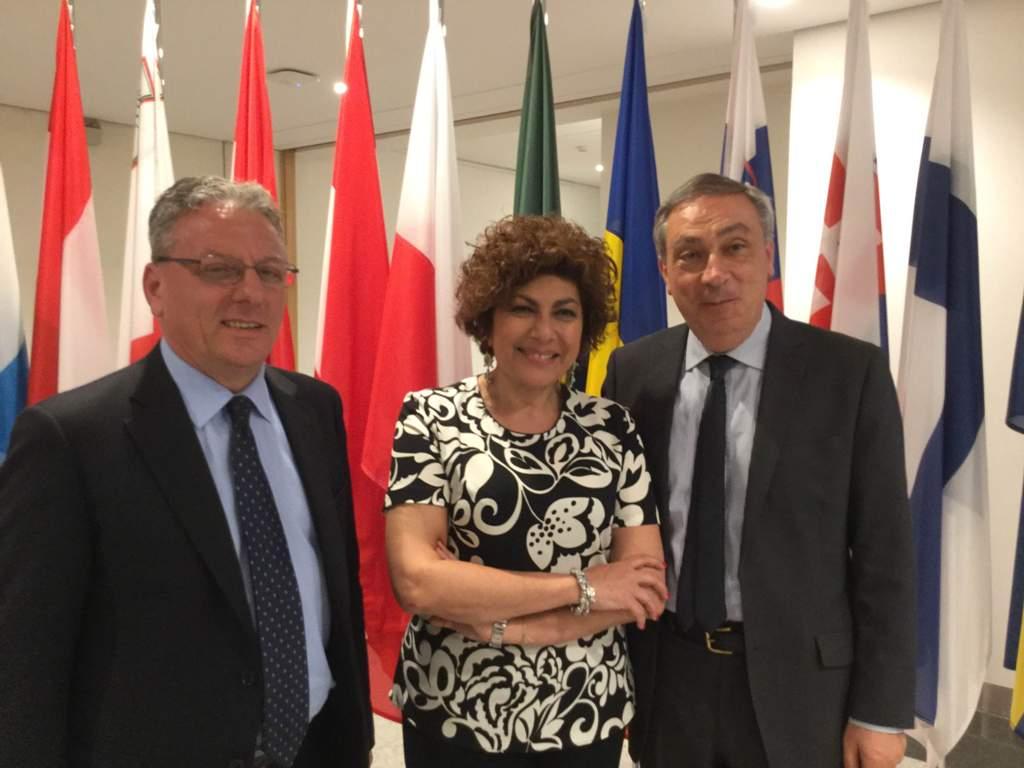 """Igp """"Olio extravergie d'oliva Sicilia"""": Vice presidente Amenta a Bruxelles plaude al riconoscimento dell'UE"""