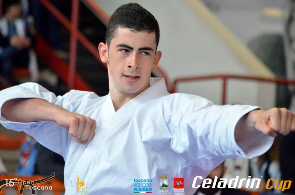 Karate. Ancora una Vittoria per Giuseppe Panagia: Oro al 15° Open di Toscana a Follonica (GR)