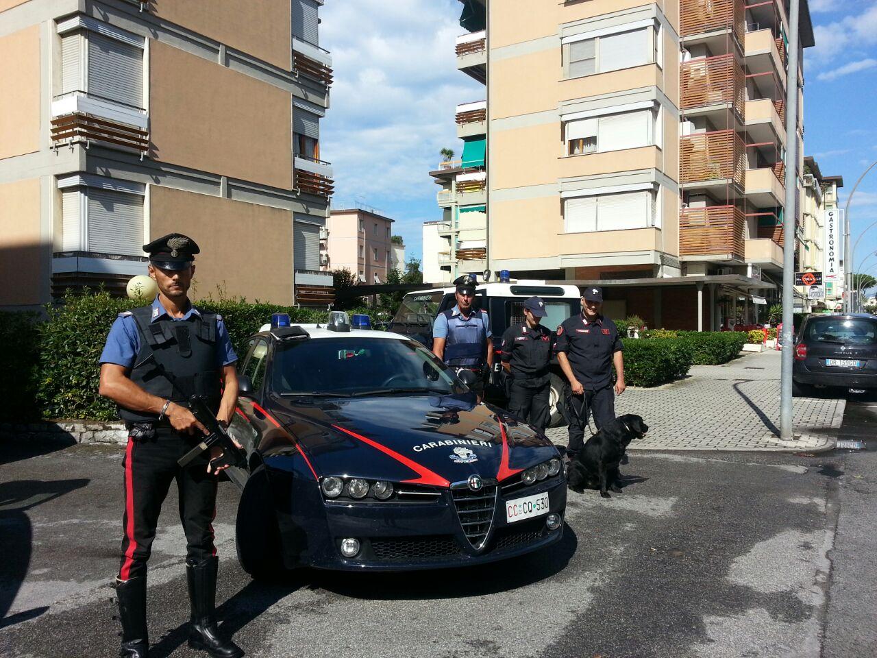 Cuneo, 12 denunce per furti. I carabinieri recuperano la refurtiva.