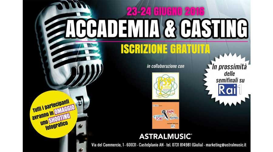 Ultime selezioni per il Festival di Castrocaro prima della finale su Rai1