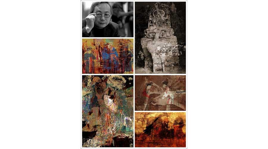 La fotografia concettuale dell'artista cinese Fu Wenjun alla Triennale d'Arte Contemporanea di Verona