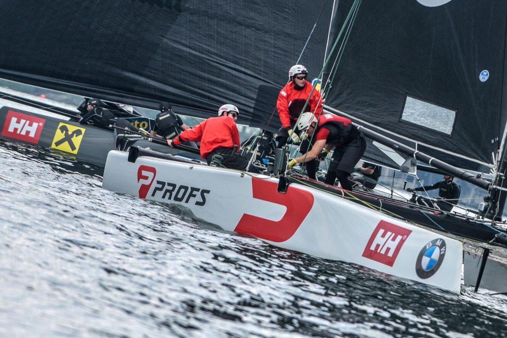 Parte la GC32 Malcesine Cup: è vela spettacolo sul Lago di Garda