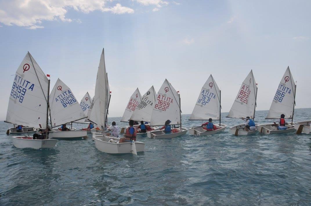 Grande partecipazione per la quarta prova della regata Optimist nella settima zona Fiv