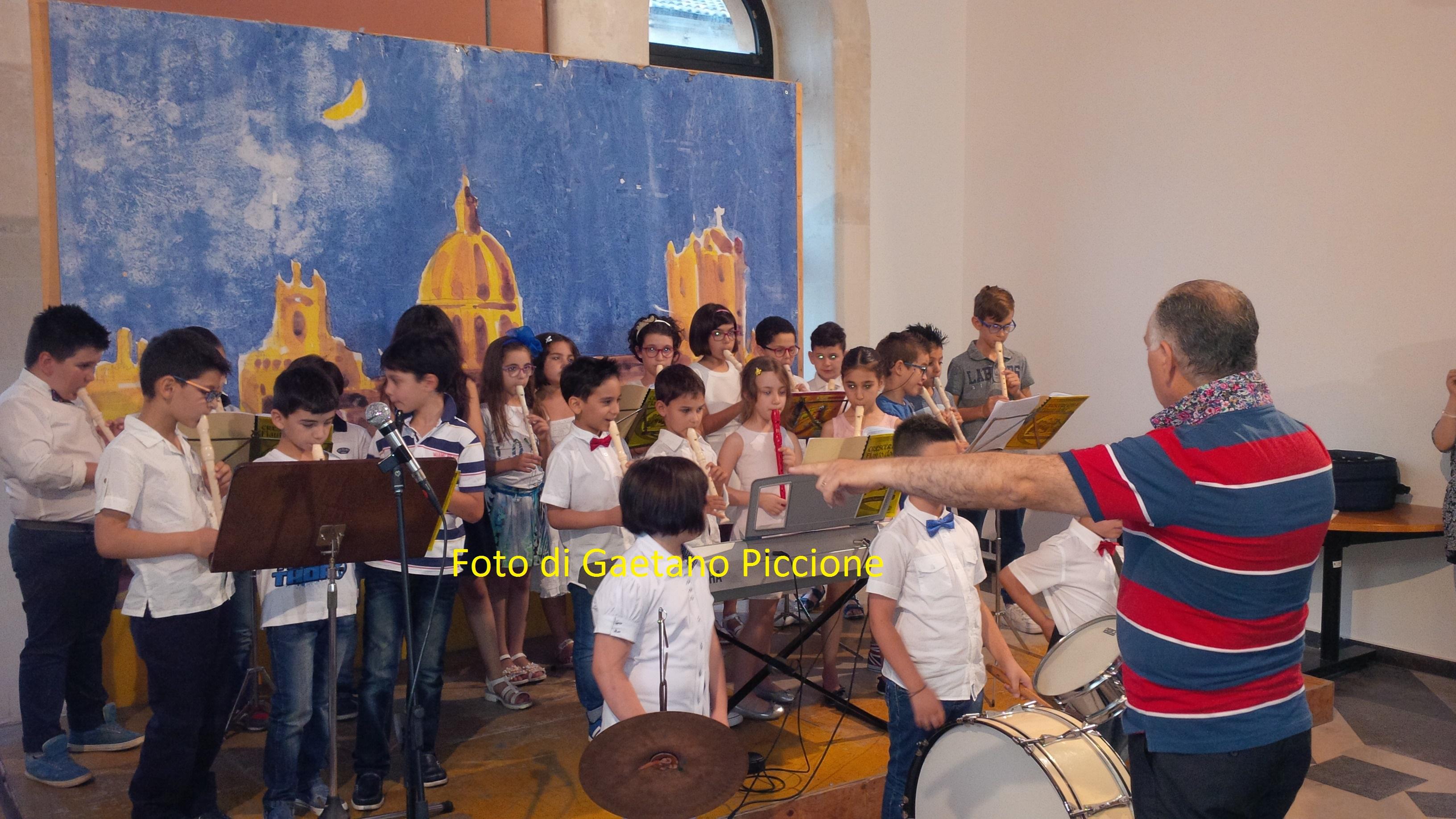 Saggio di fine anno del Centro Musicale Giovanile di Vittoria