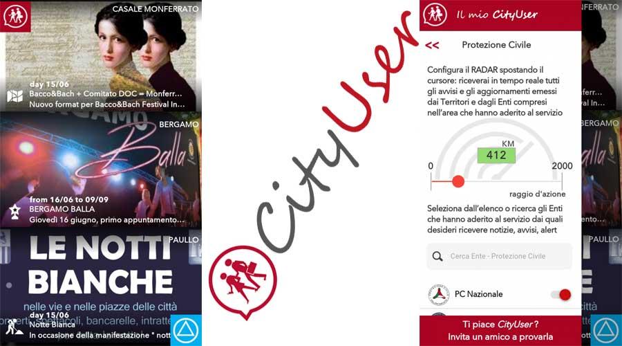 Alert vocale per cityuser: La prima App in Italia che lancia allarmi di Protezione Civile con un messaggio in Italiano e Inglese