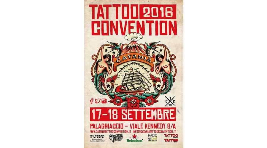 Catania Tattoo Convention 2016: La città etnea vetrina internazionale del tatuaggio