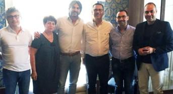 Vittoria. Misure a sostegno dell'agricoltura, ieri l'eurodeputato La Via in visita a Palazzo Iacono