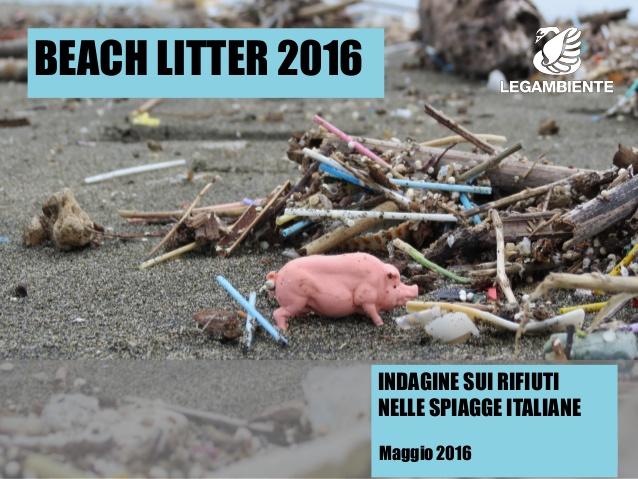 Spiagge italiane, Legambiente nel suo studio: 714 rifiuti ogni 100 metri