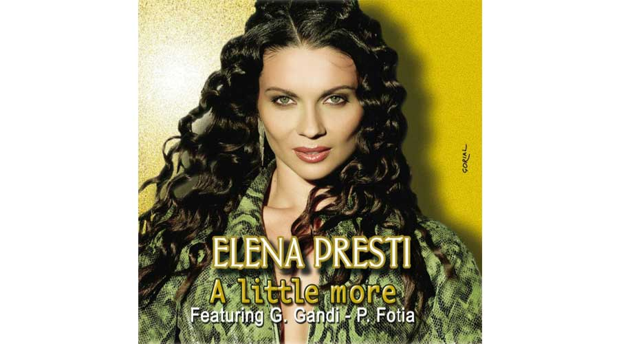 "Elena Presti con il brano ""A little More"" conquista il Disco di Platino e si conferma Hit dell'estate 2016"