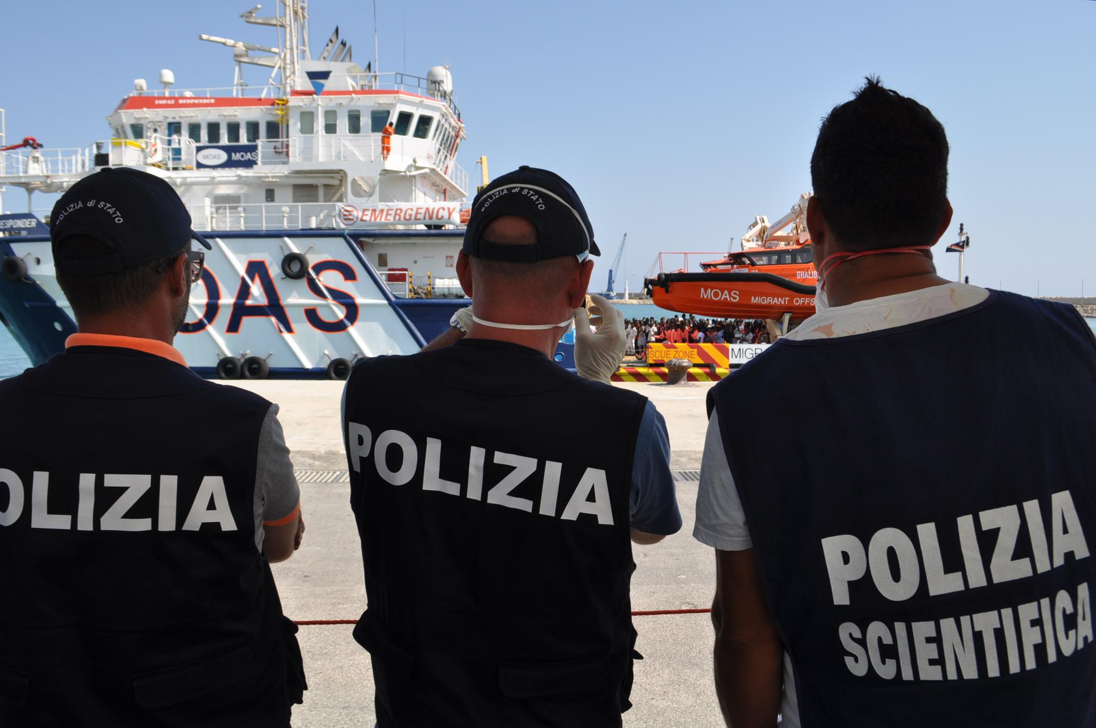 Trapani. Immigrazione clandestina: Incisiva azione di contrasto da parte della Polizia