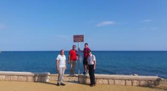 Marina di Ragusa, installate tabelle per segnalare la presenza di due trincee militari