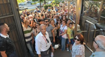 Palermo, Notte reale. Boom di visitatori: In 15mila a palazzo dei Normanni