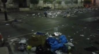 """Ragusa. Marino: """"Piazza libertà ridotta a una discarica. Situazione inconcepibile"""". Riceviamo e pubblichiamo"""