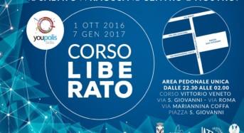 Centro storico a Ragusa, dal primo ottobre finalmente corso Vittorio Veneto senza auto il sabato notte. Passa la proposta di Youpolis