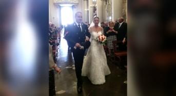 "Francesca e Salvo ""oggi sposi""…"