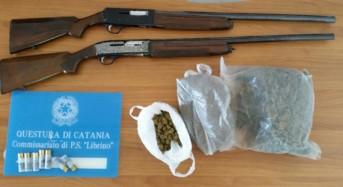 Catania, Librino: Ancora droga e armi