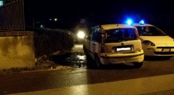 Modica, incidente autonomo sulla Comunale Musebbi