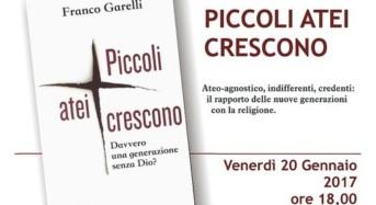 """Ragusa, presentazione del libro di Franco Garelli """"Piccoli atei crescono"""""""