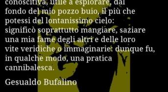 """""""Il dolore tragico del singolo come essenza dell'anima di Gesualdo Bufalino"""". Di Antonio Cammarana."""
