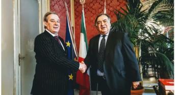 Palermo. Relazioni internazionali. Sindaco Orlando incontra ambasciatore Argentina in Italia