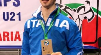 Vittoria, Karate. Dopo argento di Parigi, Panagia conquista il titolo di campione europeo a squadre con la nazionale u21