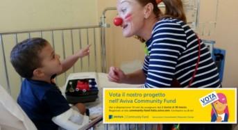 """Manda un clown in ospedale. E' il progetto di finanziamento dal basso che è possibile votare online per ottenere una donazione in favore dei clown dottori di """"Ci ridiamo su"""""""