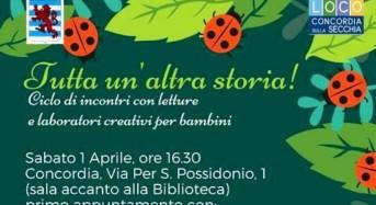 """Concordia sulla Secchia. Arriva la Primavera in Biblioteca con: """"Il risveglio della natura"""". Fiabe e laboratori per bimbi."""