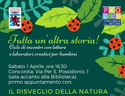 Concordia Sulla Secchia Arriva La Primavera In Biblioteca Con Il