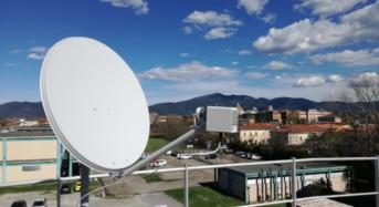Sul tetto del dipartimento di Ingegneria dell'Informazione una innovativa stazione meteo satellitare
