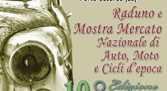 Torna a Porto Cesareo il raduno e mostra mercato di Auto, Moto e Cicli d'epoca