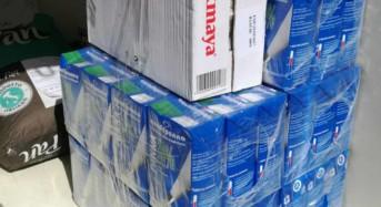 Trasporto di alimenti. La Polizia di Stato sequestra burro e latte destinati a bar e rosticcerie